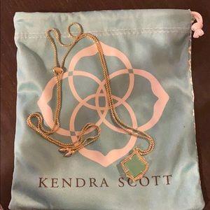 Kendra Scott kacey adjustable necklace